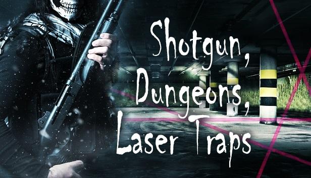 на главной Стима | Shotgun, Dungeons, Laser Traps
