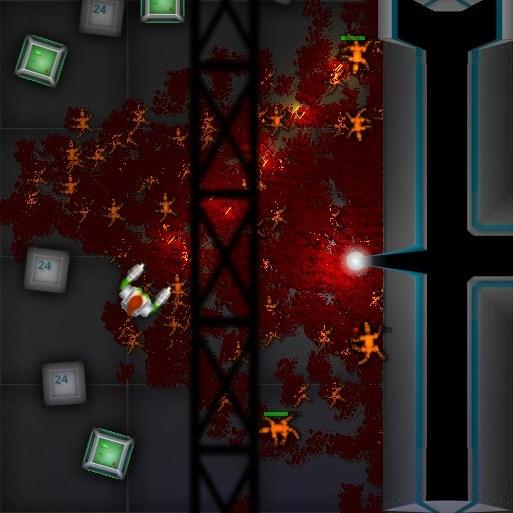 Скачать Shoot'em'up - Natasha : Dangerous Space Screenshot 2