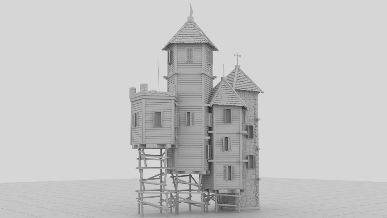 nCastle3_1 | 3D modeller