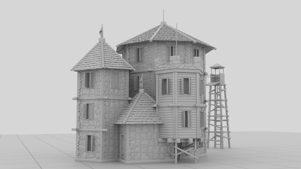 nCastle5 | Houdini technical artist / 3D modeller