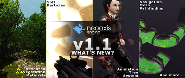 NeoAxis 1.1 Banner