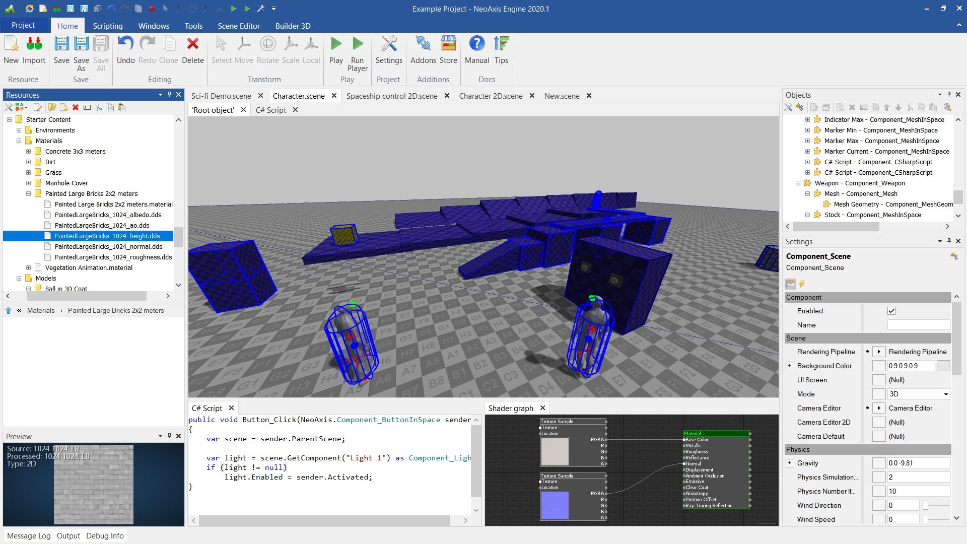 NeoAxis Engine 2020.1 | Вышел NeoAxis Engine 2020.1