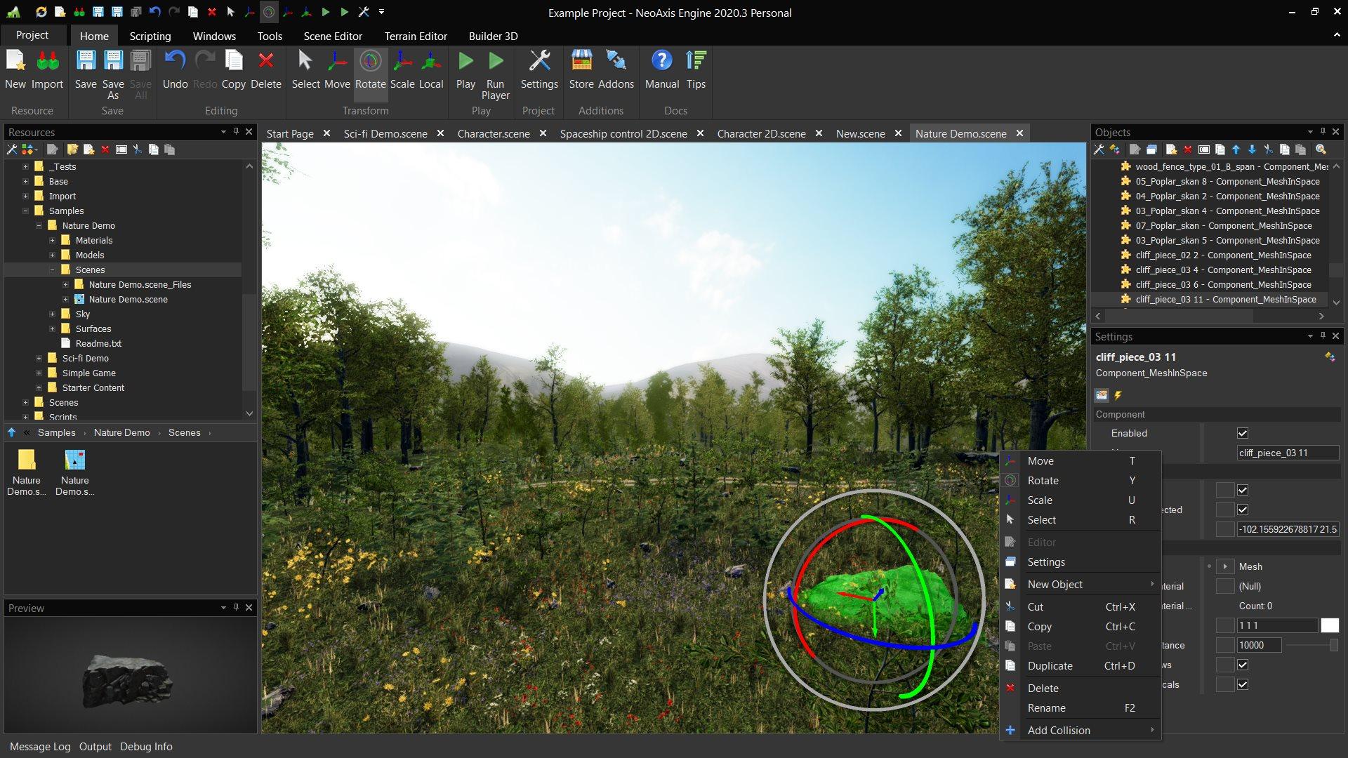NeoAxis Engine 2020.3 | NeoAxis Engine, 3D/2D игровой движок, теперь Open Source