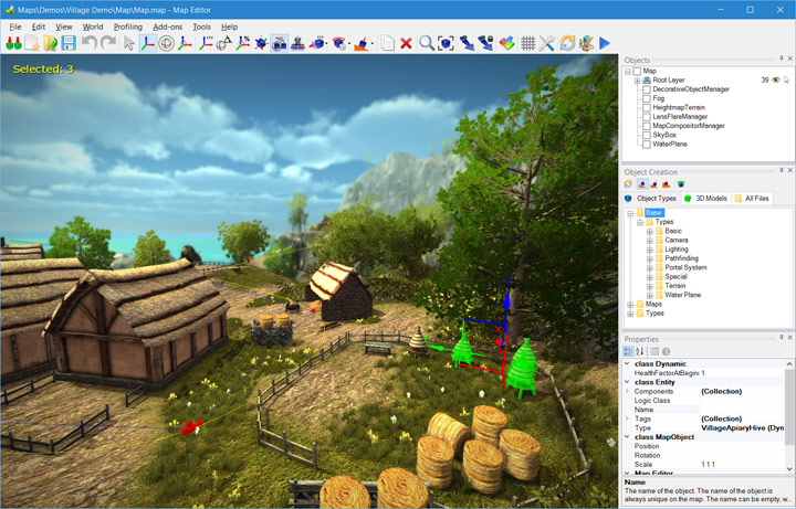 NeoAxis 3D Engine 3.5 Released | Вышел NeoAxis Engine 2019.3