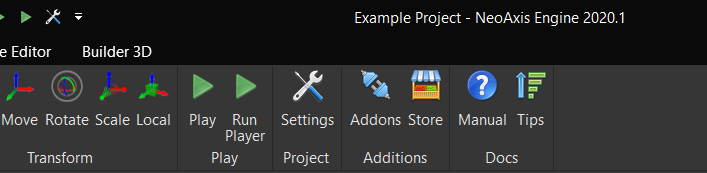 NeoAxis Engine Dark Theme | Вышел NeoAxis Engine 2020.1