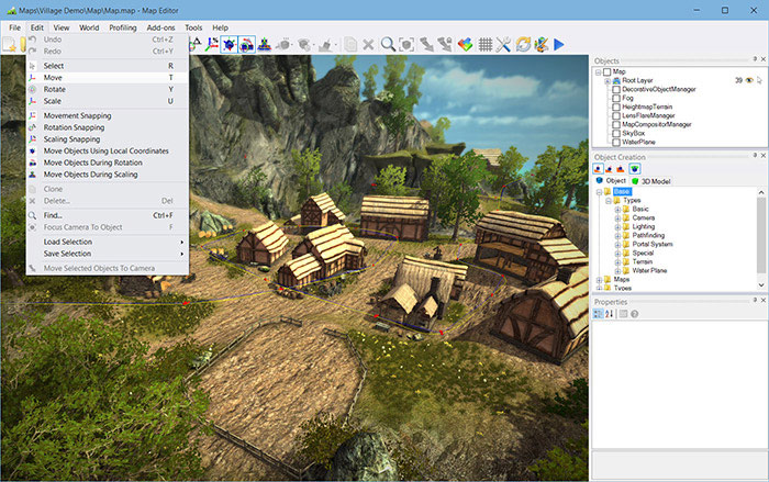 NeoAxis 3D Engine 3.4 | Вышел NeoAxis Engine 2019.2