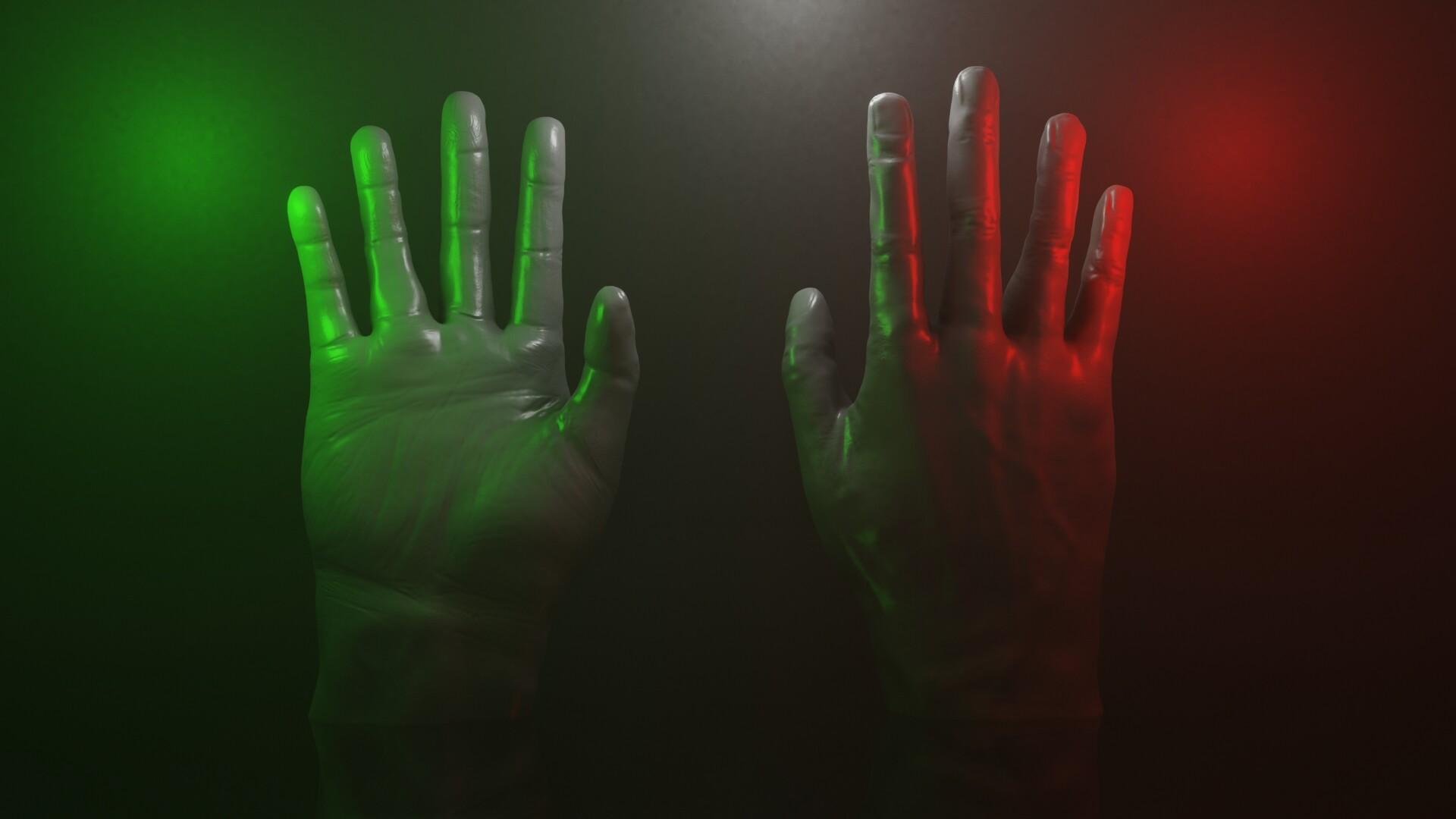 Hand Sculpt | 3D-Artist