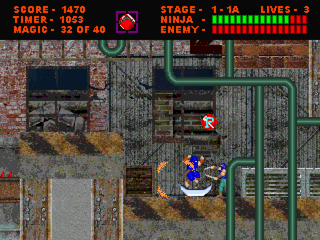 screenshot 1 | Ninja Gaiden 4 [2D Платформер]