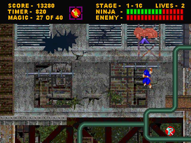 Screenshot 2 | Ninja Gaiden 4 [2D Платформер]