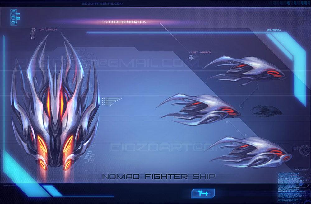 Nomad_14(p)(w) | ◄2D художник/2D artist/Concept artist►[Sci-fi, fantasy, средневековье, post-apocalyptic и т.д.]