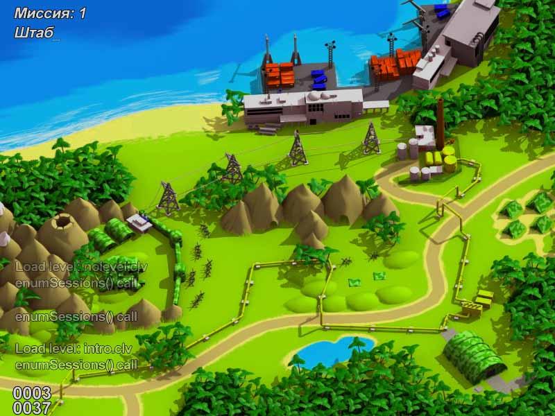 карта в игре.   Normal Tanks 2 Open source, редактор уровней