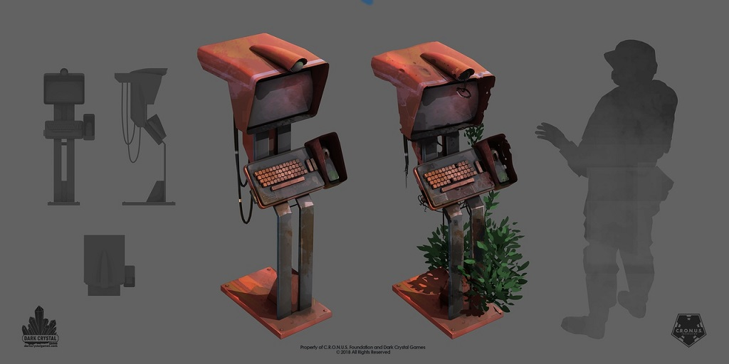 Encased_3 | 3D Artist (Props, Environment) / Постапокалиптическая RPG / Санкт-Петербург