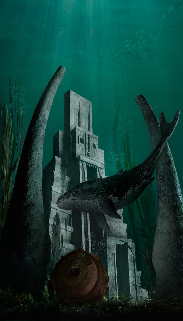ocean   2D Casual ,Environment concept art, очень нужна оценка и мнение