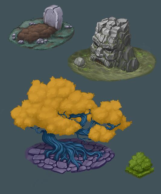 Environment | 2D Художник, иллюстратор.