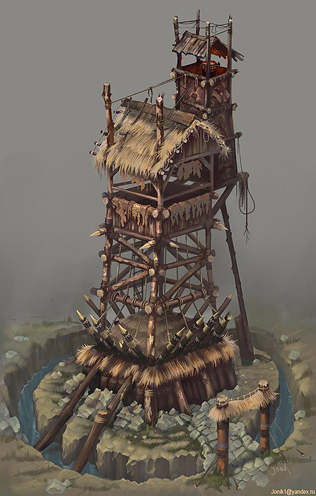 orc_tower | Jonik arts