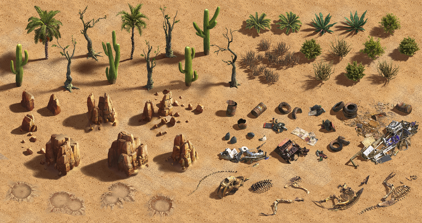Pack_full | ✏️2D/3D Environment Artist PRG/Action/RTS/Moba/Isometric
