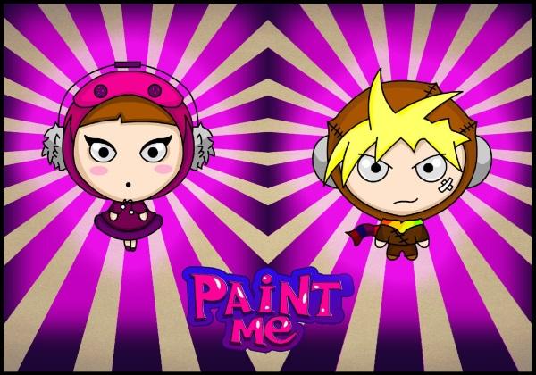 PaintMe - heroes