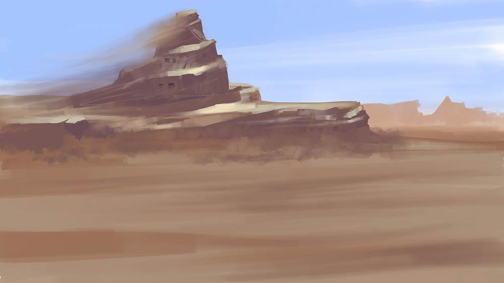 песчаный корабль | 2d художник