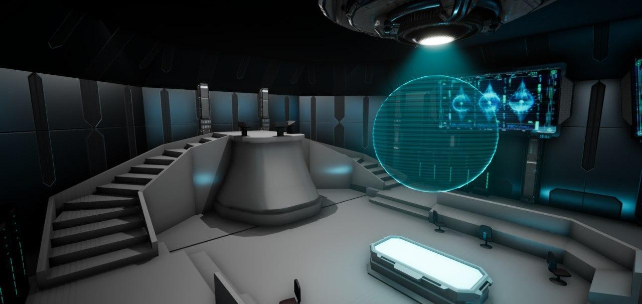 Left in Space bridge blockout