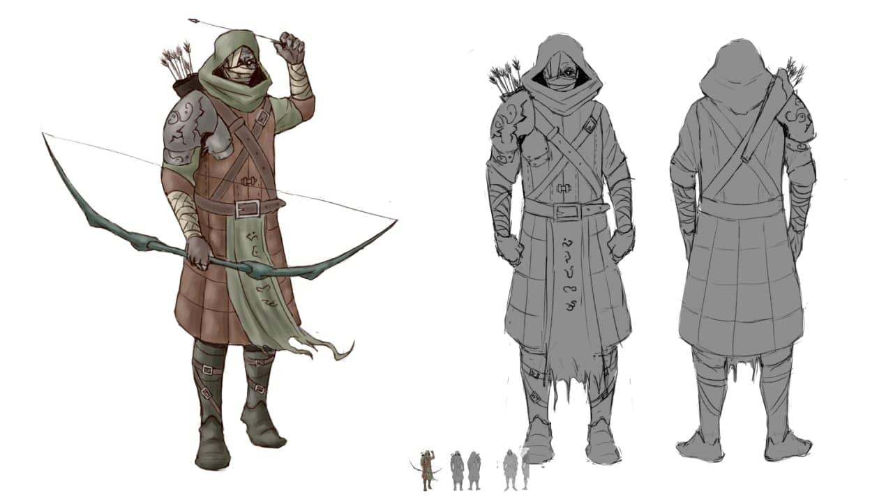 Сектант-лучник   Разработка новой игры