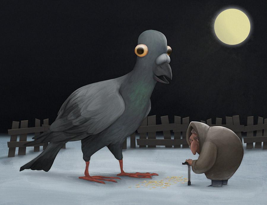 pigeon | 2d художник. Персонажи, иллюстрации.