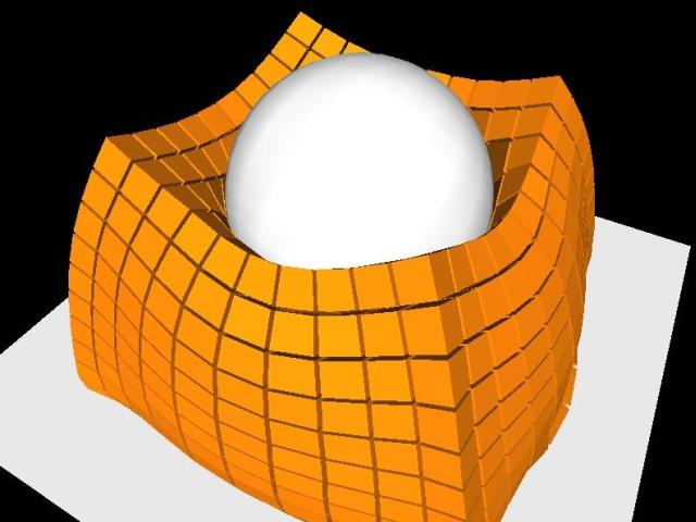 plasticvolumeconservati | Физика «на пальцах»: Position-Based подход