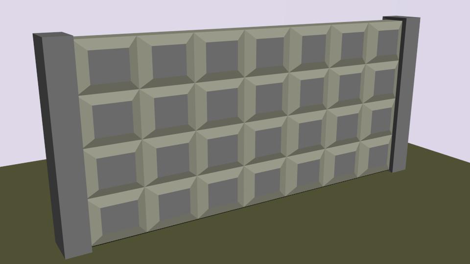 плита | Простые модельки из нескольких кубиков