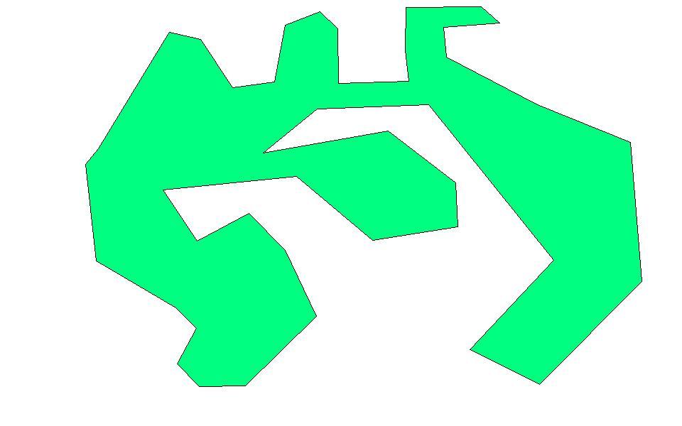 полигон любой формы