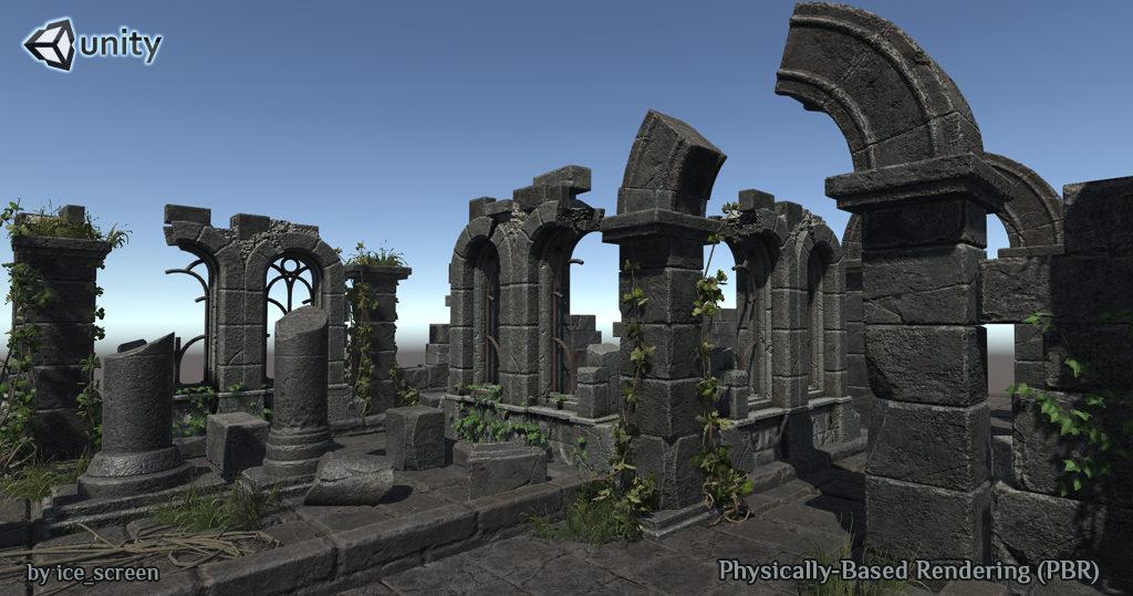 Ruin_sm1 | 3d Environment Artist - 3d окружение для игр