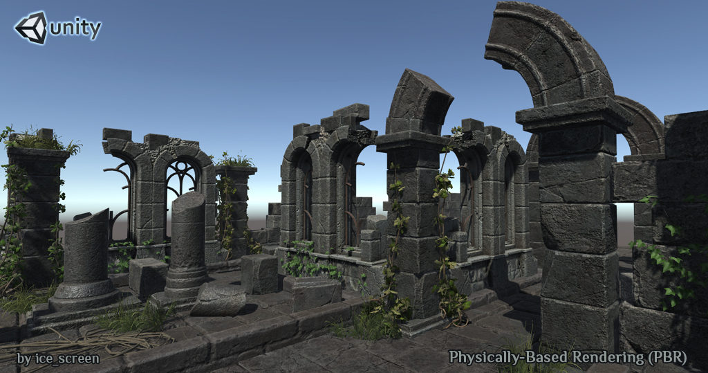 Ruin_sm1 | 3d Artist - локации, окружение и объекты.