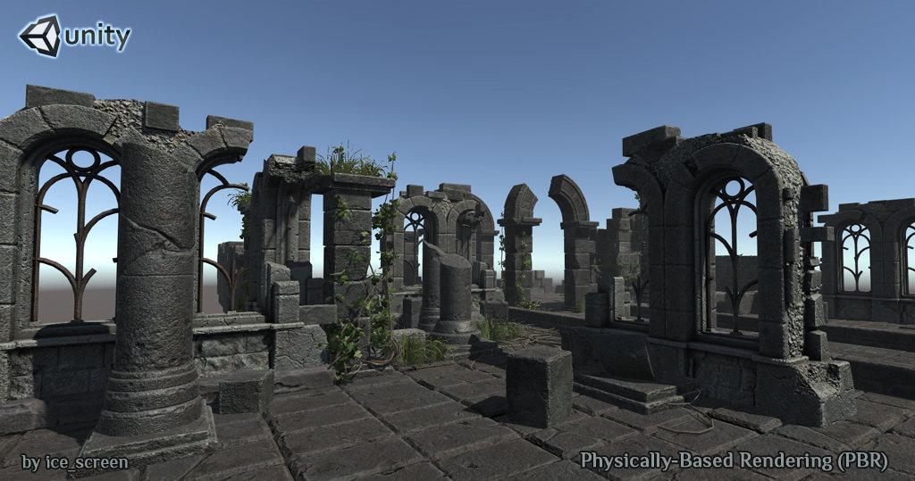 Ruin_sm2 | 3d Environment Artist - 3d окружение для игр