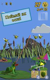 Frog and bees screenshot1
