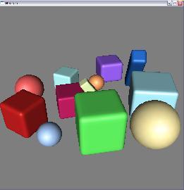 OpenGL FFP render
