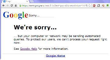Бан в гугле