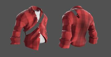TF2 Scout Checkered Shirt