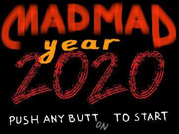 Хайп. Лого Mad Mad Year 2020