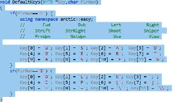2D Quake v107 Release 4 Keyboard Layout