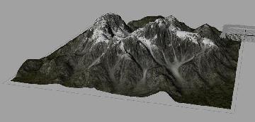 Ландшафт в Maya | Создание моделей ландшафтов