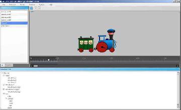 скин редактора анимации