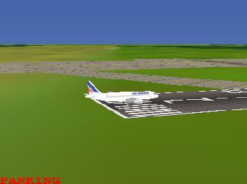 скрин: a320 полёт по кругу