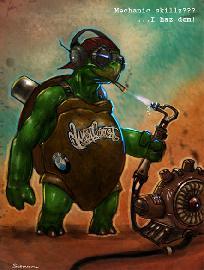 Черепах - механик