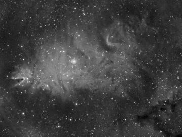 Скопление Снежинки (NGC 2264)