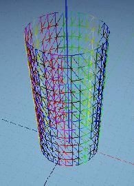 Процедурная геометрия - цилиндр