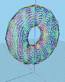 Процедурная геометрия - цилиндр модифицированный