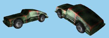Процедурная геометрия - автомобиль (3) с нормалями