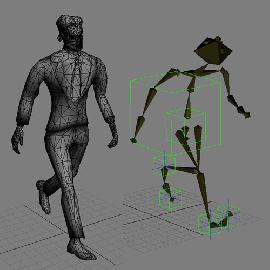 Гуль-скелет