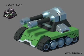 Uniwar / Tank