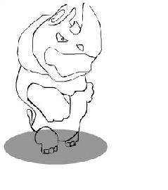 носорог из панды