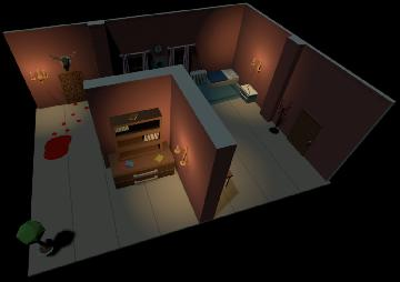 OneDay. Screenshot from Game.