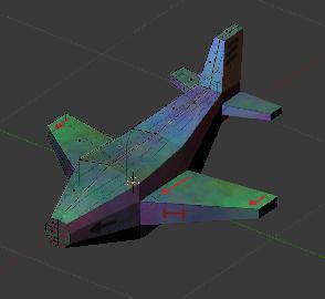 Олдскульный самолётик